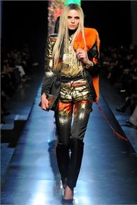 Fall Winter 2012-13 Jean Paul Gaultier, Paris - click on the photo to see the complete collection and review on Vogue.it
