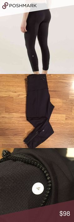 Lululemon Runday Crop Black- Luxtreme- EUC, no flaws to note. Price is firm unless bundled. NO TRADES🚫 lululemon athletica Pants Leggings