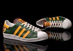 """Benji Blunt x adidas Superstar """"Trojan"""" Adidas Boots, Adidas Outfit, Adidas Sneakers, Adidas Men, Hip Hop Sneakers, Best Sneakers, Adidas Fashion, Sneakers Fashion, Fashion Outfits"""