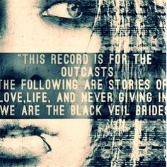 The Outcasts (Call To Arms) - Black Veil Brides