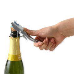 KIH/Brut シャンパンオープナー クロム 5040yen もうコルク抜きが怖くない!シャンパン専用オープナー