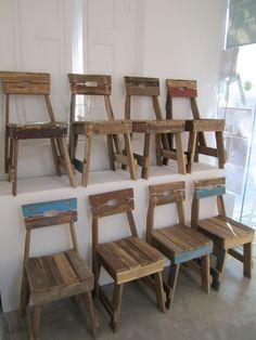 Plank Chair by Piet Hein Eek