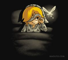 INSOMNIA T-Shirt $12.99 Legend of Zelda tee at Pop Up Tee!