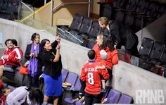 Holtby making times for fans....