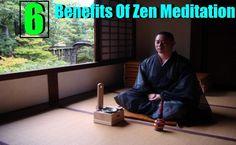 Benefits Of Zen Meditation