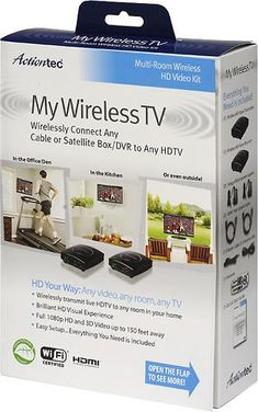 MyWirelessTV Wireless HDMI --need to check this out. Really want to mount TV on fireplace stone wall but don't want a major reno in order to accomplish.