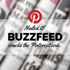 Nailed It: Buzzfeed Cracks The Pinterest Code