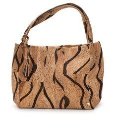 Cork Handbag - Julia, Okapi - Elegant Fashion made by Nature