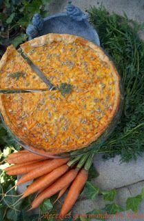 Tarte aux carottes râpées, cumin et comté Snack Recipes, Cooking Recipes, Healthy Snacks, Healthy Recipes, Savory Tart, Batch Cooking, Veggie Dishes, Summer Recipes, Eat Cake