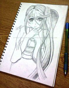 Sketch<3 anime<3 handmade<3 sanyya amjad<3 scraper.blog.com