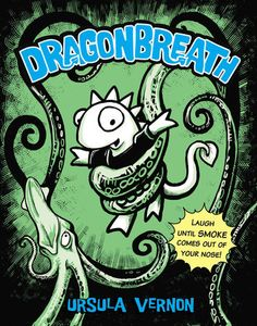 Danny Dragonbreath can't breathe fire, but he has no fear. And that comes in handy when a bad grade at school inspires him to enlist his cousin the sea-serpent's help with a research project. Using a hybrid...