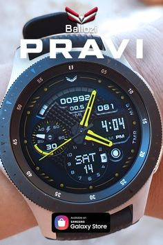 A tactical style hybrid watch face. Watch Faces, Smartwatch, Samsung Galaxy, Watches, My Style, Clocks, Smart Watch, Wristwatches