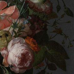 Stilleven met bloemen op een marmeren tafelblad, Rachel Ruysch, 1716 - Still lifes - Works of art - Explore the collection - Rijksmuseum