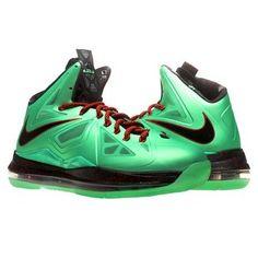 huge selection of 9edc0 0887f Nike Lebron X Cutting Jade Mens Basketball Shoes 541100 303 on Sale