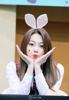 Kang Mina ~ Gugudan ~ IOI Jung Chaeyeon, Kim Sejeong, Jellyfish Entertainment, Fandom, Kawaii, Ulzzang Couple, Korean Celebrities, King Kong, Korean Actresses