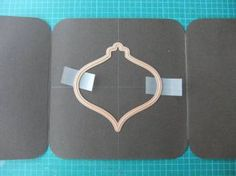 From My Craft Room: Gate-Fold with Window Card Tutorial Place die cutting edge up, Card Making Tips, Card Making Tutorials, Card Making Techniques, Making Ideas, Embossing Techniques, Fun Fold Cards, Folded Cards, Stampin Up Anleitung, Window Cards