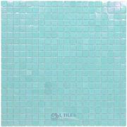 "Vicenza Mosaico Glass Tiles USA - Phoenix 5/8"" Glass Film-Faced Sheets in Slumber - ( TRE-43981 )"
