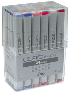 Basics, Set of 24 - Copic Markers