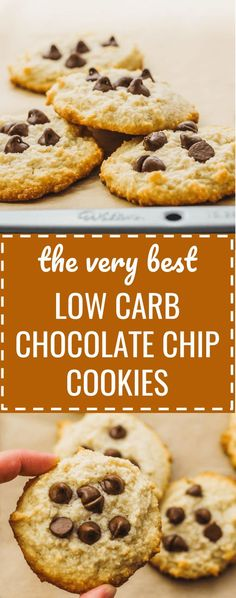 Best low carb chocolate chip cookies - Healthy, keto friendly, and easy. soft / without brown sugar / sugar free / no sugar / diet / atkins / induction / meals / recipes / easy / dinner / lunch / foods / healthy / dessert / chewy / home made recipe / from scratch / small batch / crispy / softest / gluten free / perfect / fluffy / simple / classic / paleo / thin / quick / healthier / flourless / almond flour / for two / crunchy / christmas / how to make #cookies #chocolate #keto