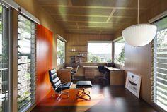 複雑なMalenyのハウス - ホームオフィスの装飾