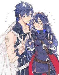 Father and Daughter, Chrom and Lucina