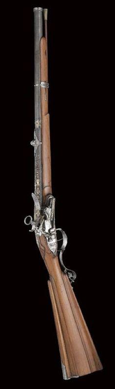 Mid 18th century Spanish flintlock