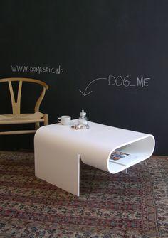 DOG cofeetable in corian