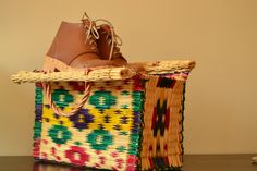 Packing for Weekend.  Handmade Clog Boots + Handweaved Reed Basket available at  https://www.etsy.com/pt/shop/FeiradeBarcelos
