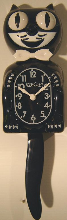 Kit Cat Clock - I always wanted one of these.  The eyes moved, the tail moved, how cool was that?