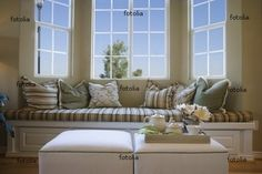 Would like to add a window seat into our master bedroom and one upstairs bedroom that both have bay windows