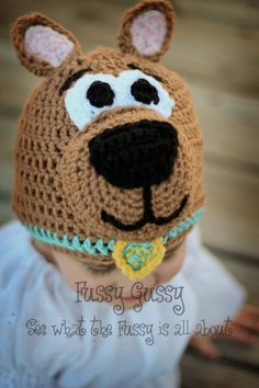 Scooby Do!  I bet I could figure this out. (paid pattern)