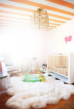 Uber Stylish Nursery Of Fashion Designer Meritt Elliott On THE GLOW. Baby  Room ...