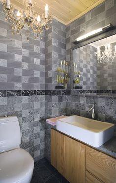 Soapstone tile work