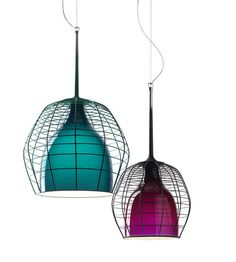 cage lamps by diesel & Foscarini
