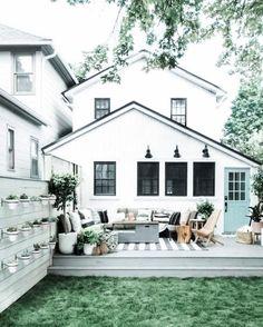 Backyard Retreat, Backyard Patio, Backyard Landscaping, Patio Decks, Backyard Ideas, Patio Deck Designs, Design Jardin, Outdoor Living, Outdoor Decor