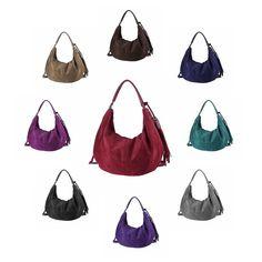 . OBC ital-design DAMEN TASCHE BOWLING Hobo-Bag Shopper Fransen Handtasche Henkeltasche Schultertasche Beuteltasche Velour Wildleder