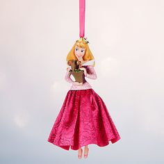 New in Box Disney Store 2016 Aurora Sketchbook Ornament - Sleeping Beauty Frocked in a glittering pink satin gown, our Princess Aurora ornament awakens a vision found once upon a dream. Dress your holiday tree with this classic Disney dreame. Disney Christmas Ornaments, Peanuts Christmas, Mickey Christmas, Christmas Books, Christmas Decorations, Xmas, Christmas Time, Christmas Stuff, Christmas Ideas