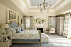 Kelley Proxmire Fabric can do amazing things to too large rooms