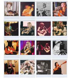 Stevie  ~ ☆♥❤♥☆ ~   playing a guitar ~ 16 photos; on her 16th birthday her parents gave Stevie her first guitar