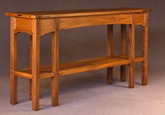 Aurora Sofa Table by Darrell Peart