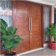 Door Design Ideas Modern Entrance New Ideas Main Entrance Door Design, Front Door Entryway, Modern Entrance, Entrance Doors, Modern Exterior Doors, Double Doors Interior, Exterior Front Doors, Exterior Design, Double Door Design