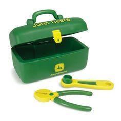 John Deere Kids Soft Toolbox Set – GreenToys4u.com #johndeere #toolbox #tools