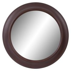 Bay Isle Home Swatzell Round Woodgrain Traditional Accent Mirror Round Wall Mirror, Round Mirrors, Wall Decor Online, Mirrors Wayfair, Beautiful Mirrors, Diy Frame, Wood Grain, Accent Decor, Decorative Pillows
