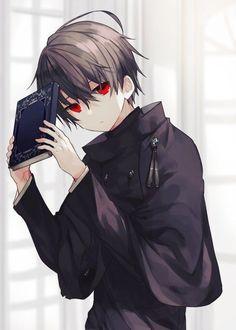 Anime Boy Demon, Dark Anime Guys, Cool Anime Guys, Handsome Anime Guys, Cute Anime Boy, Anime Angel, Anime Boy Hair, Anime Neko, Yandere Anime