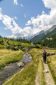 Wanderweg-Loetschental-Grundsee