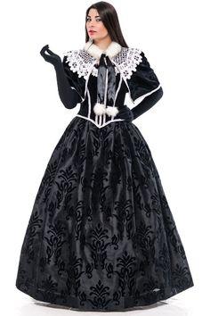 Дама в чорному | Lady in Black #crown #dress #masqueradeball #QueenandPrincess #LadyinBlack