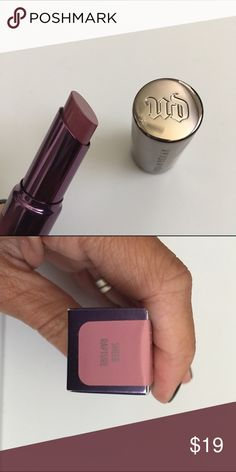 Urban Decay Revolution Lipstick Color is Sheer Rapture. New in box Urban Decay Makeup Lipstick