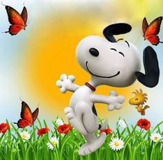Snoopy & Woodstock Snoopy Comics, Snoopy Und Woodstock, Love My Best Friend, Snoopy Pictures, Snoopy Wallpaper, Cute Beagles, Snoopy Quotes, Funny Emoji, Charlie Brown And Snoopy