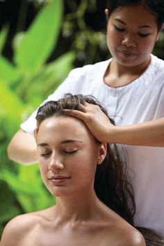 4/1/16 ~ Barbara, I thought you might like a  good head massage to relieve any tension.  Some nice soothing music will go perfect with it.  Have a great spa day! ~Julianna