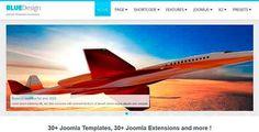 Blue Design Flexibility Theme – Free Responsive Joomla Templates
